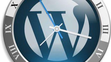 Wordpress Clock