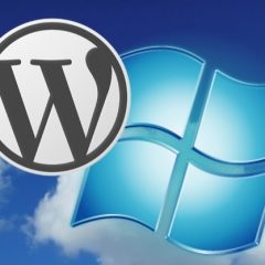 wordpress and windows
