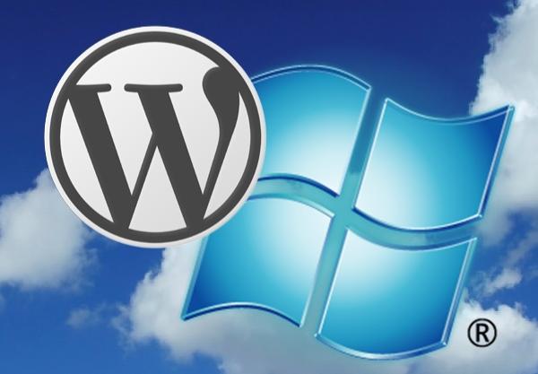 wordpress and windows